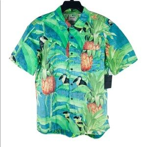 HURLEY   Hawaiian Shirt L classic fit NWT $55